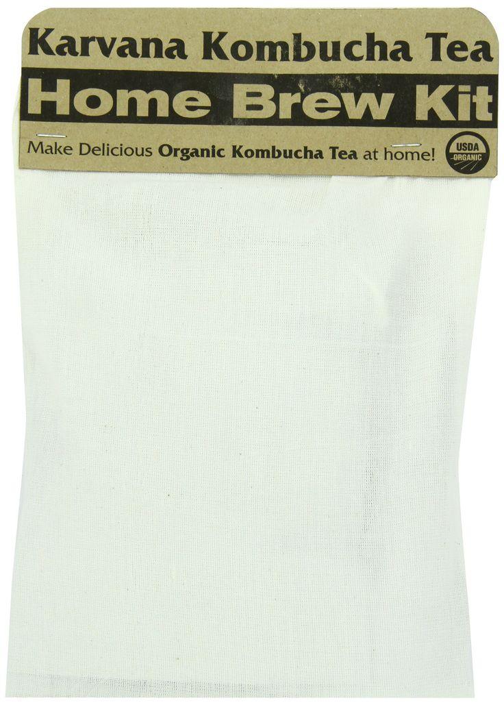 Karvana Kombucha Home Brew Tea Kit, Basic, 24 Ounce