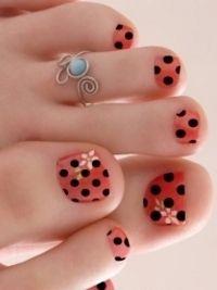 disenos de unas cortas 2013 | Pedicura y uñas decoradas para el otoño de 2012