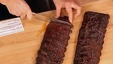 Oven Roasted Ribs with Barbecue Sauce