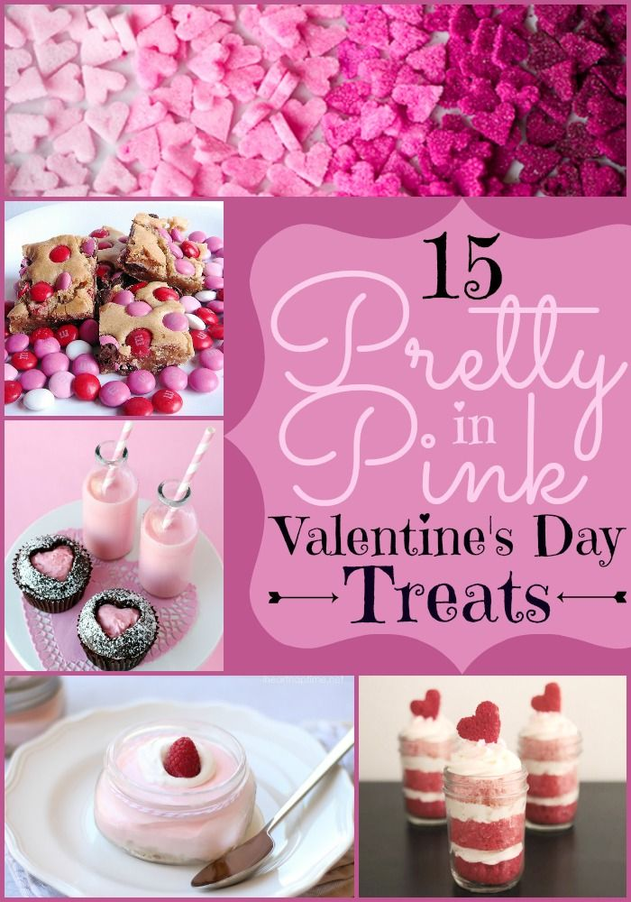 15 Pretty in Pink #Valentine'sDay Treats | The prettiest Vday inspiration for kids and adults alike. | Heart cupcakes, Bread with pink hearts, heart shaped cookies, and much more! | www.dreamingofleaving.com