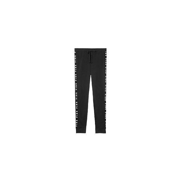 Cute Sweatpants & Joggers for Women - PINK ($60) ❤ liked on Polyvore featuring activewear, activewear pants, victoria's secret, skinny fit sweatpants, jogger sweatpants, skinny sweat pants and boyfriend sweatpants