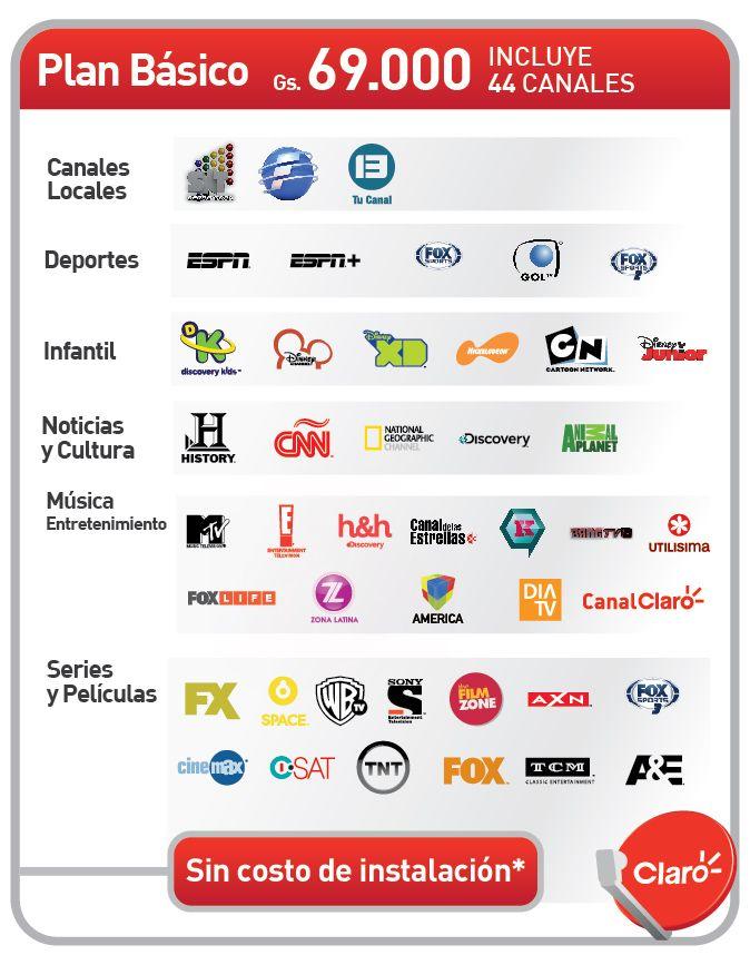 Encuentra Los Canales De Televisi 243 N Que Te Ofrece Claro