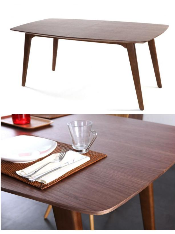 17 best images about table rallonge deco on pinterest for Solde table a manger