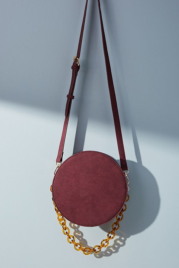8e45625d2a Chained Circle Crossbody Bag