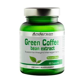GREEN COFFEE BEAN EXTRACT 60CPS 30G