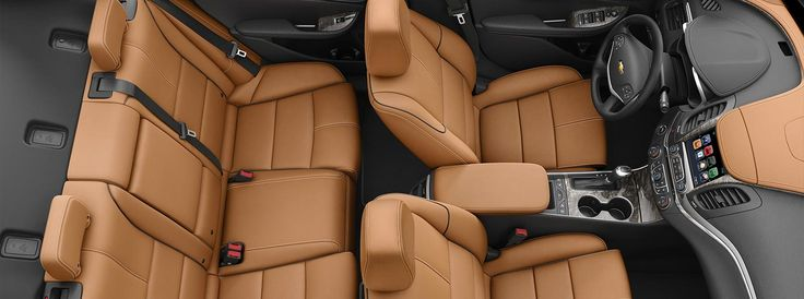 2016 Impala full-size cars interior seating