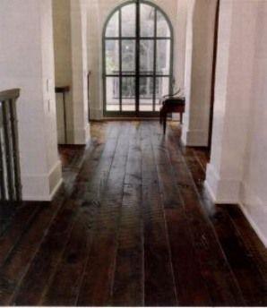 dark carved wood floors!!!