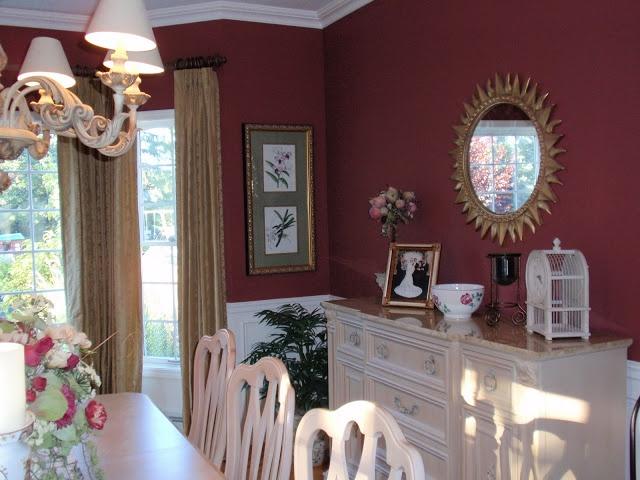 Favorite paint colors red tawny port by benjamin moore for Navajo red benjamin moore