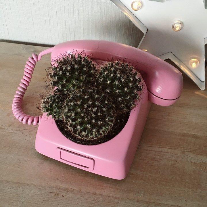 Renatejosefine blogg: DIY TelefonPotte