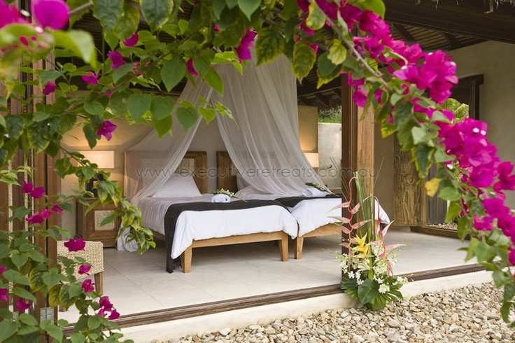 Will your next holiday be here?  http://www.executiveretreats.com.au/articles/118/1/Bali-Hai/Page1.html