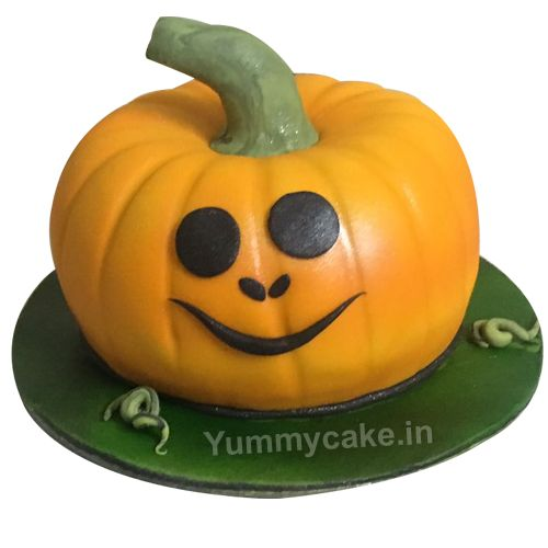 If you love to celebrate #halloween then keep visiting on Yummy Cake and book your best birthday cake for unlimited fun. Book your order now http://yummycake.in/product/pumpkin-cake/ #PumpkinCake #HalloweenCake #cakeDesign #DesignerCake