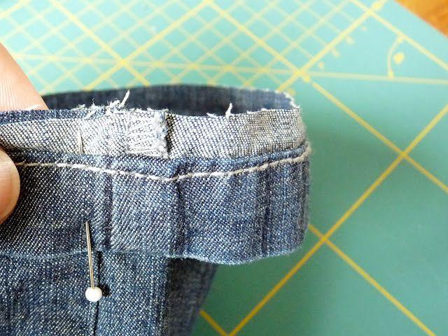 Herzenssachen: Wie näht Ihr eine Jeans um?