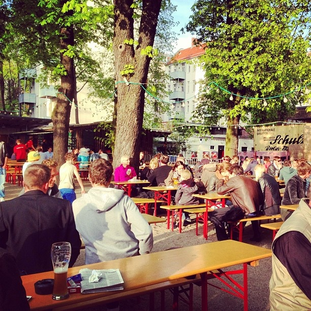 #Biergarten weather finally. #berlin #germansingermany