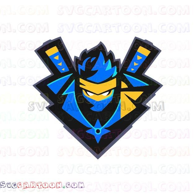 Fortnite Streamer Ninja Ninjashyper Svg Dxf Eps Pdf Png Godzilla Wallpaper Poster Prints Svg