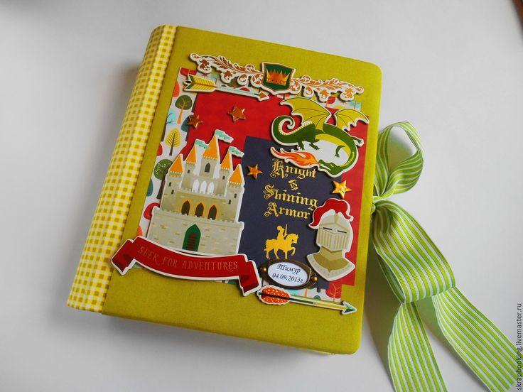 Купить Дневник молодой мамы - тёмно-бирюзовый, дневник для мамы, дневник ручной работы