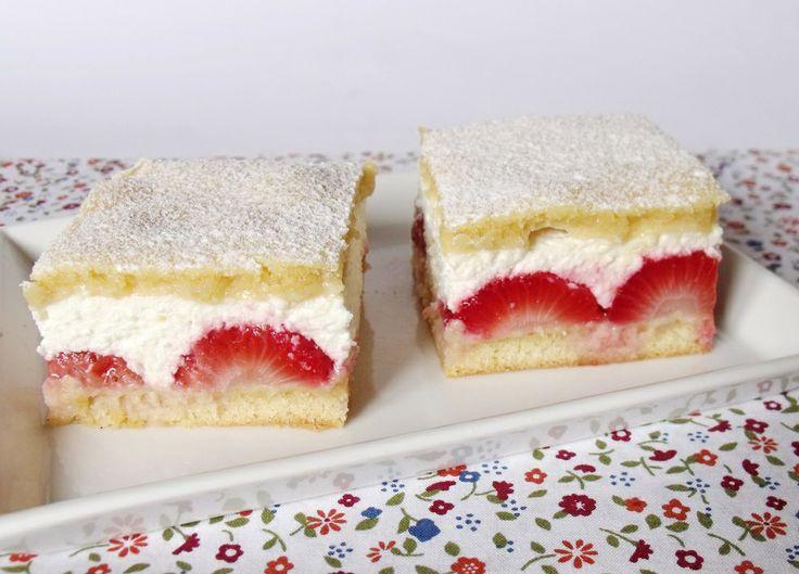 Citromhab: Epres-túrós sütemény