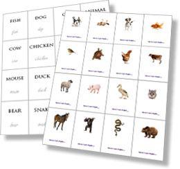 Printable Flashcards