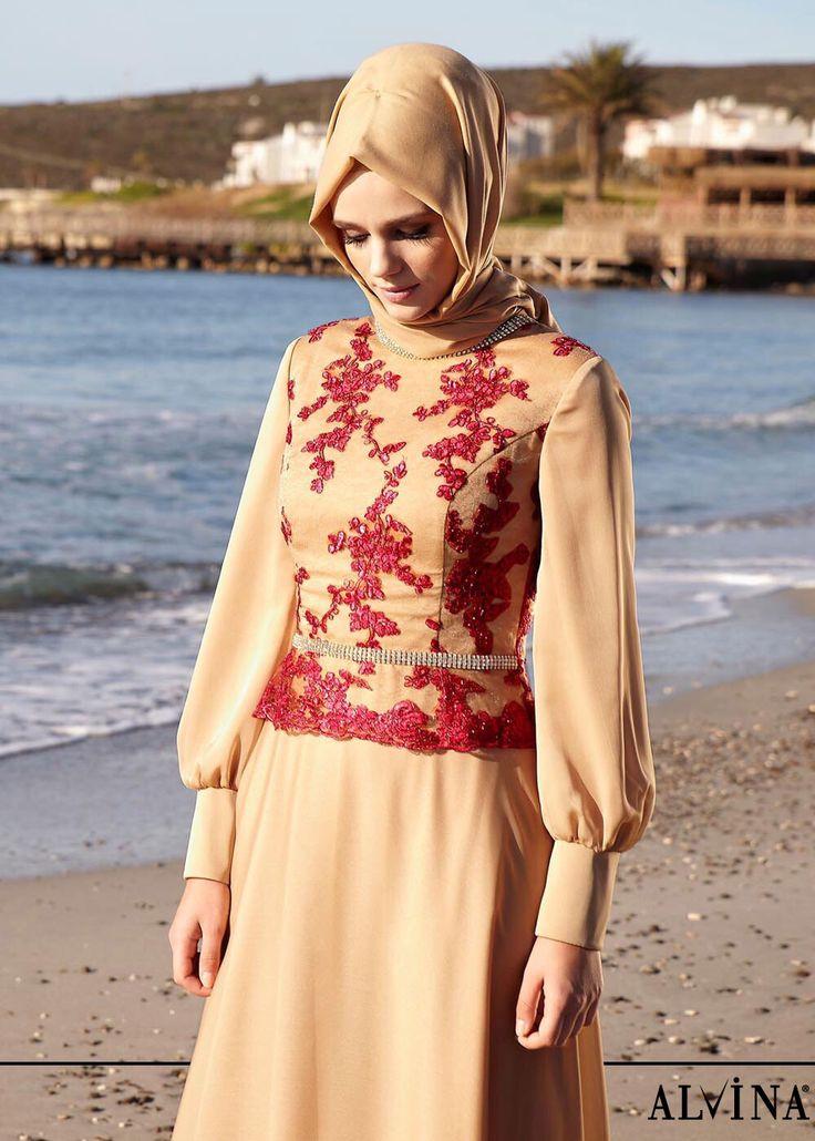 Şıklığınızla göz kamaştırın.. #alvina #alvinamoda #alvinafashion #alvinaforever #hijab #hijabstyle #hijabfashion #tesettür #fashion #stylish #eveningdress #new #havalı #bambaşka #alvinakadını