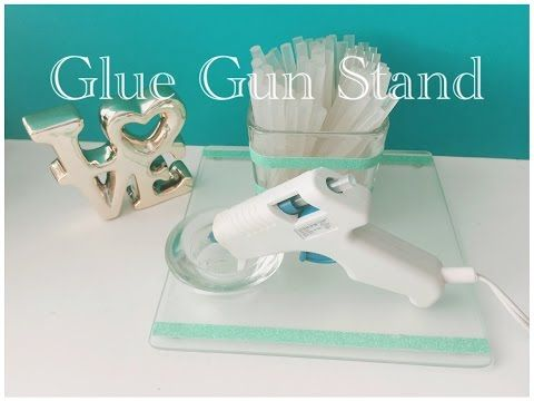 (63) DIY Dollar Tree Glue Gun Stand - Quick & Easy $3 - YouTube