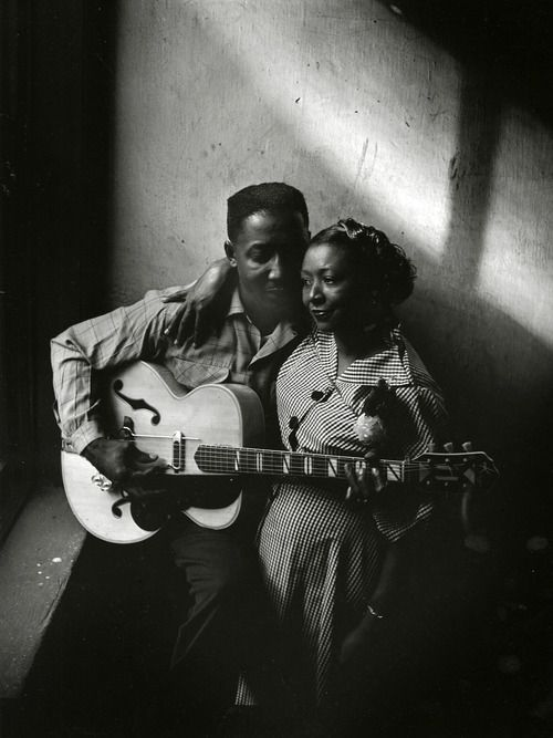 Muddy and his wife Geneva