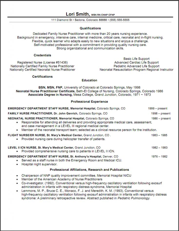 nurse practitioner resume objective - Pr Resume Objective