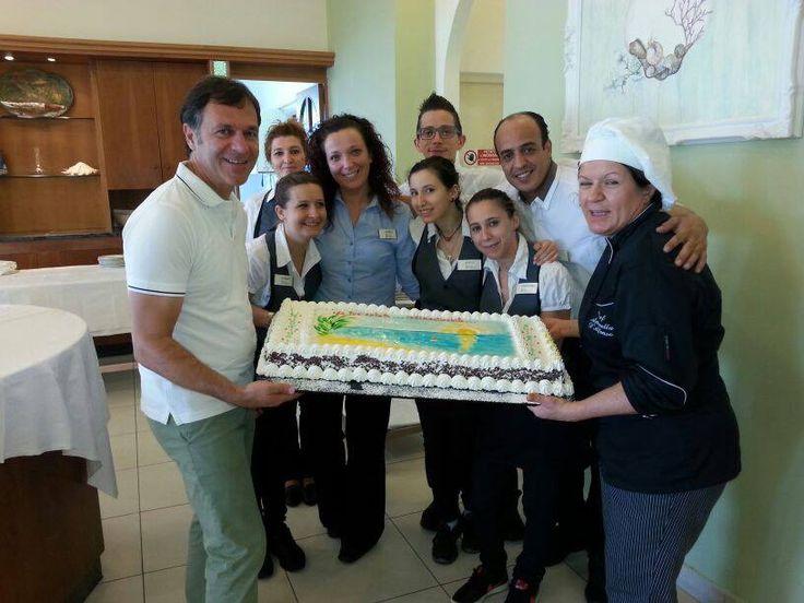 Hotel Cirillo's staff  2014.