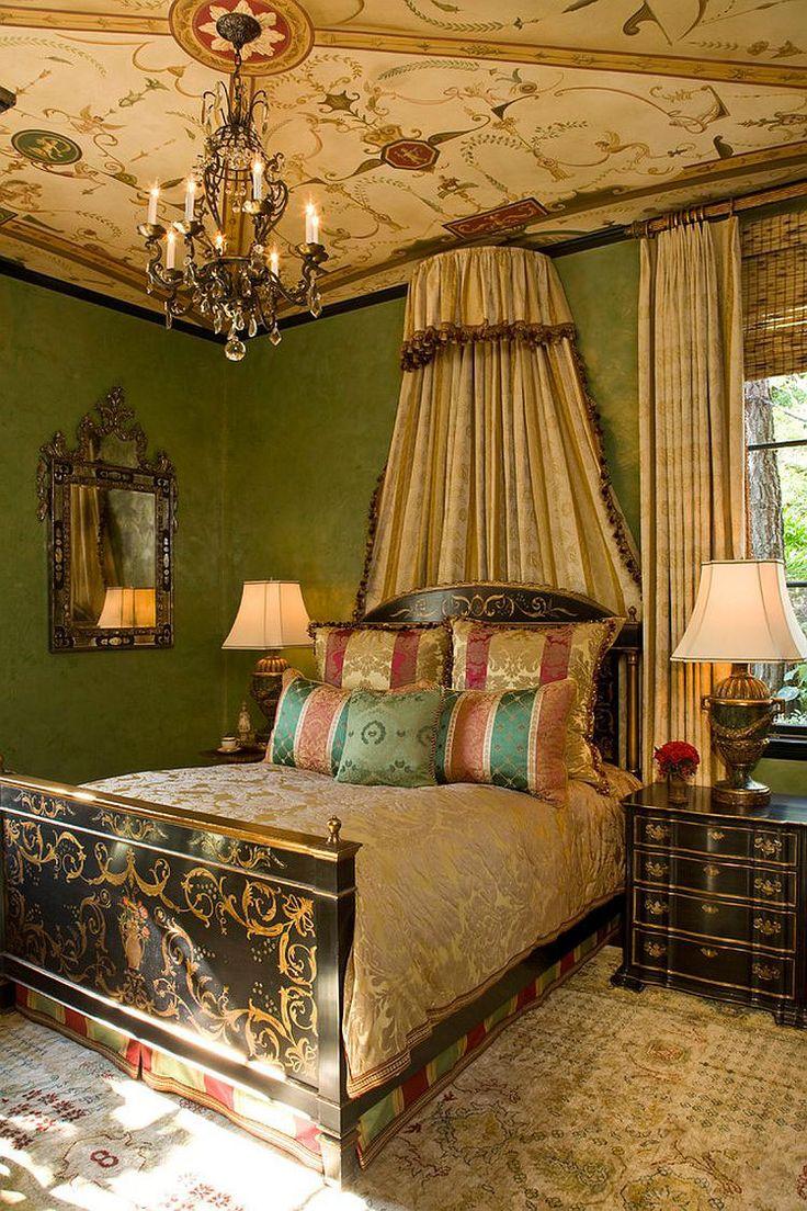 Camera da letto in stile vittoriano n.09