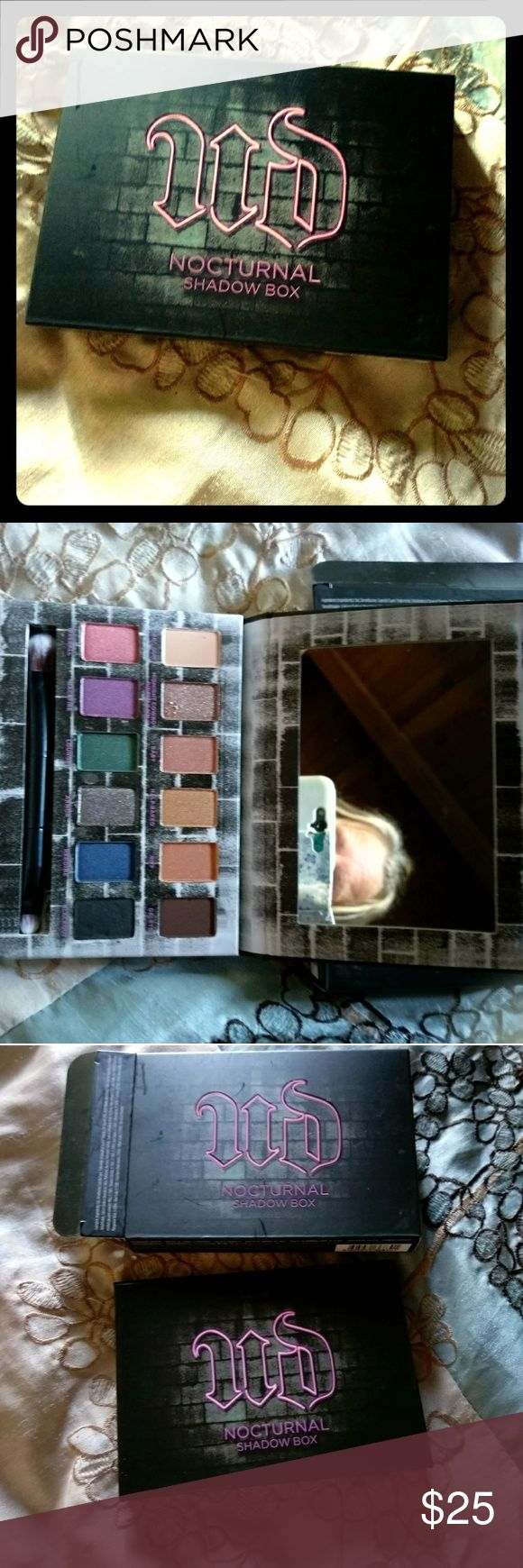 NEW Urban Decay Nocturnal Shadow box pallet Never been used or swatched. Brand new in box Urban Decay Makeup
