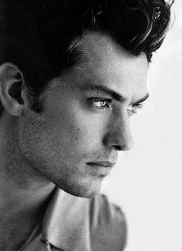 Jude Law: Clean shaven or sporting a mustache this British actor is always makes an impression.
