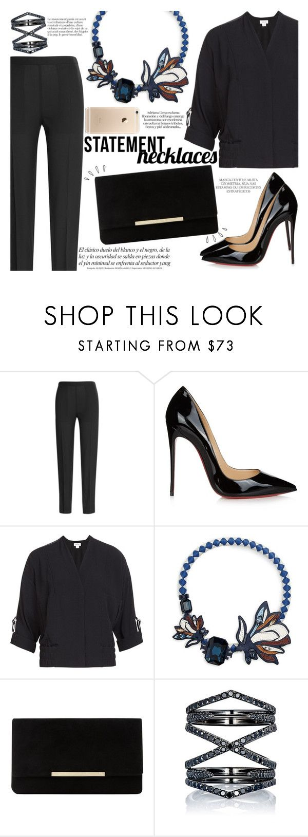 """""""Paramparça Style : Dilara Terzioğlu"""" by igedesubawa ❤ liked on Polyvore featuring Magdalena, Maison Margiela, Christian Louboutin, Helmut Lang, Tory Burch, Dune, Eva Fehren, Old Navy, contestentry and polyvorecontest"""
