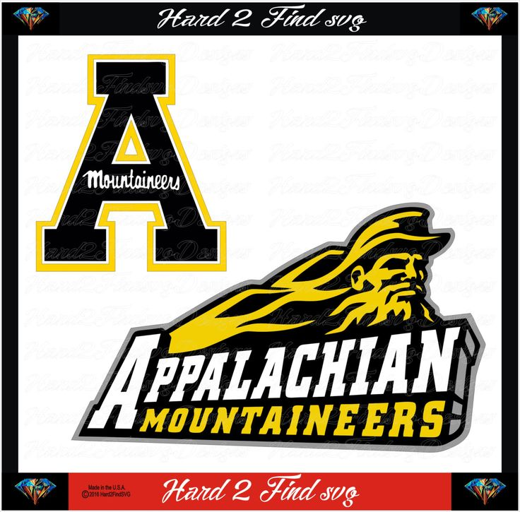 Appalachian Mountaineers Sports Design Use With Your