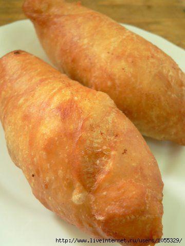 Знаменитые орские ливерные пирожки из жидкого теста : Выпечка несладкая