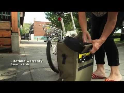 Arkel Signature V - urban waterproof laptop pannier