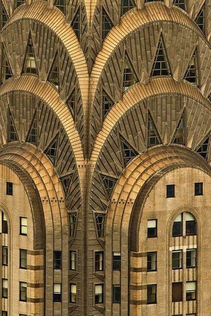 Chrysler Building, Art Deco Skyscraper, New York ....