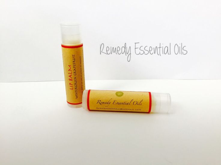 Wintergreen and Grapefruit Essential Oil Lip Balm; Lip Balm; Essential Oils; All Natural; Lip Chap; Moisturizing Lip Balm by RemedyEssentialOils on Etsy https://www.etsy.com/ca/listing/275354348/wintergreen-and-grapefruit-essential-oil
