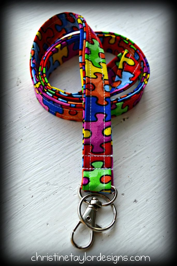 Autism Awareness - 1 lanyard