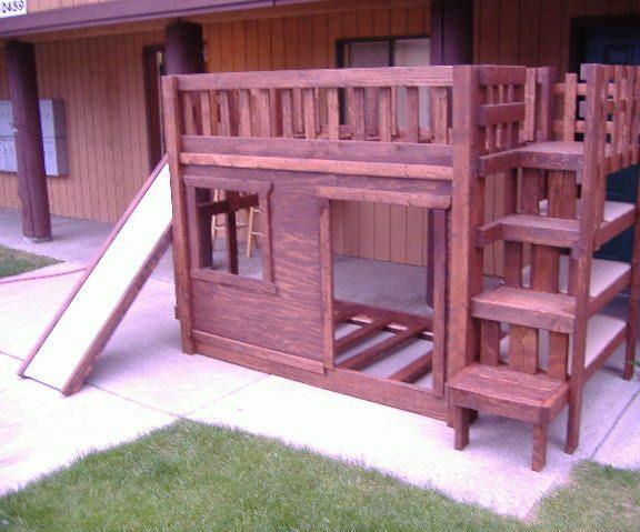 best 25 bunk bed with slide ideas on pinterest cabin bed with slide bunk bed playhouse and childrens slides
