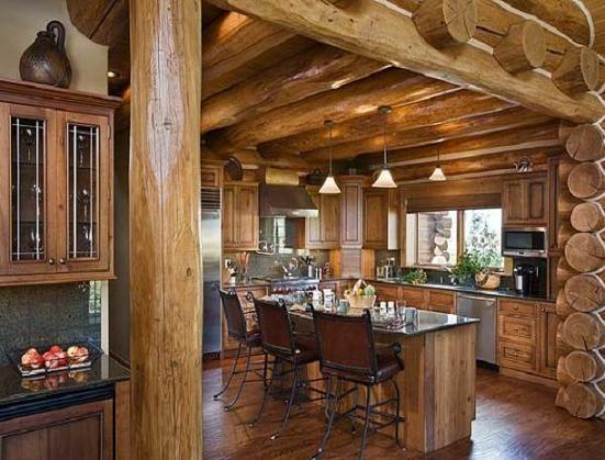 log cabin bathroom ideas elegant looking kitchen matching log cabin decorclipscom