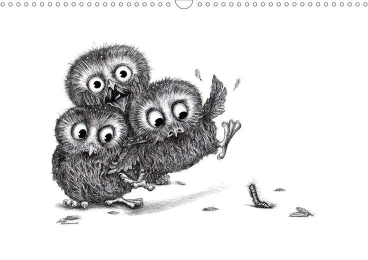 Owls by stefan kahlhammer