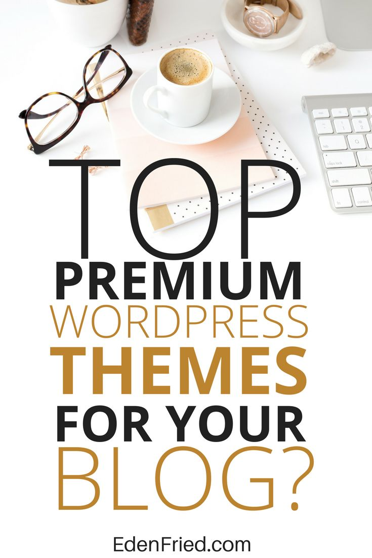 Find the best wordpress themes for your blog. Skip the free themes and go right for the best premium themes available. You'll end up switching down the line anyway. Here's what you need to know.