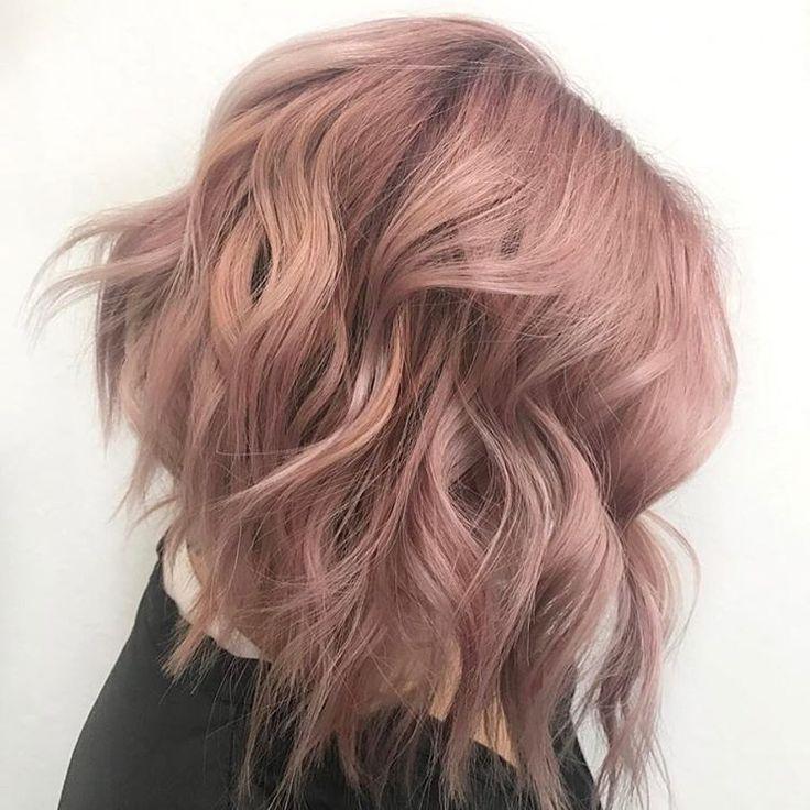 "950 Likes, 11 Comments - Schwarzkopf Professional USA (@schwarzkopfusa) on Instagram: ""Dusty rose  #APassionForHair Hair by @blondecardigan . . . Base: IGORA ROYAL 9-18 + 7-0 + 9-98 +…"""