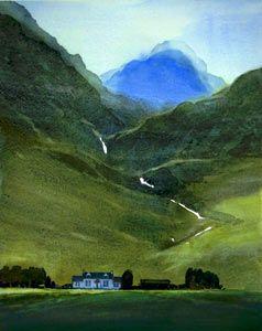 Glencoe print, Scotland