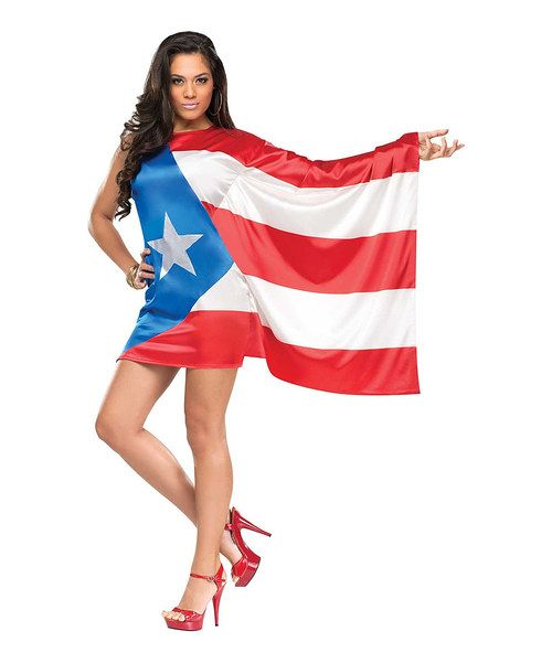 Another great find on #zulily! Puerto Rican Flag Dress-Up Outfit - Women by Fun World #zulilyfinds