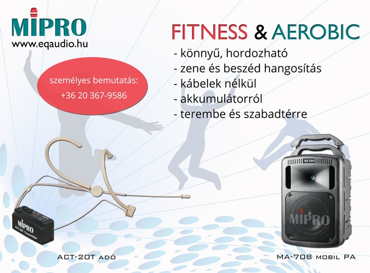 MIPRO Fitness & Aerobik solutions