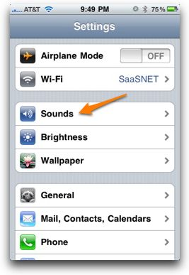 how to create your own notification sound on iphone