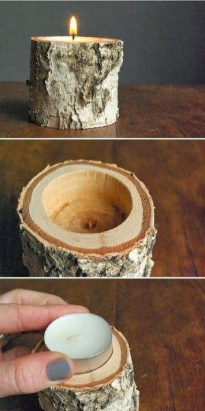 Leuk idee voor waxinekaarsen