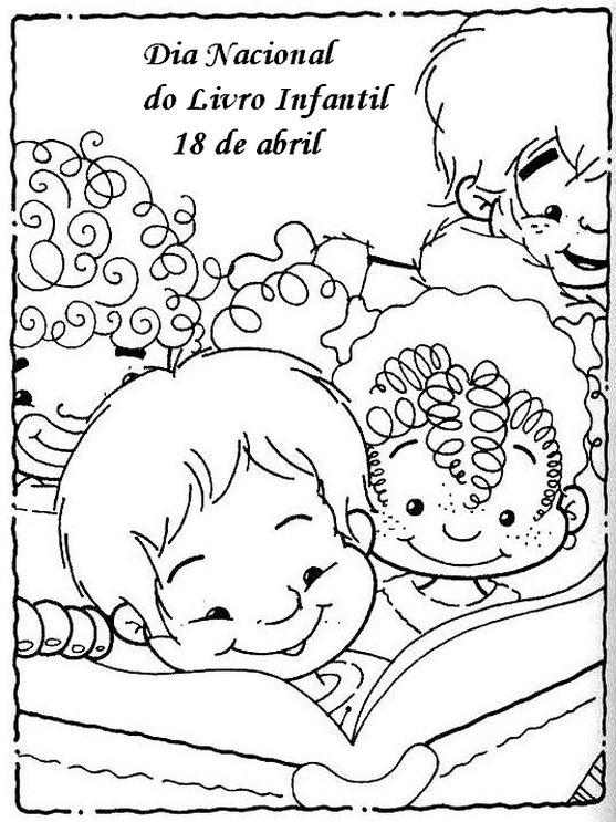 Pedagógiccos: Dia Nacional do Livro Infantil - atividades - part...