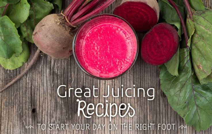 Great Juicing RecipesStart your day off on the right foot.