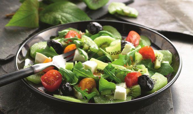 Recette de salade italienne aux kiwis – jardinerie Truffaut conseils Recettes de cuisine Truffaut