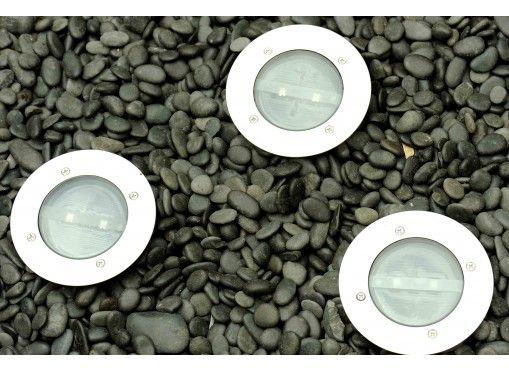 Spots solaires LED encastrables (les 3) - Jardin et Saisons